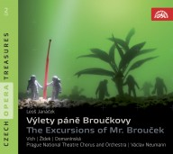 Janáček, Leoš: Excursions of Mr. Brouček