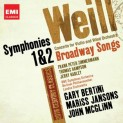 Weill, Kurt: Symphonies Nos. 1 & 2 / Concerto for Violin and Wind Orchestra / Broadway Songs