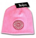 Beatles : Sgt Pepper Beanie Pink Hat