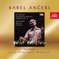 Anerl, Karel: Gold 37 - Serenda pro orchestr; Symfonie . 2 in Cis; Koncert pro fagot a orchestr
