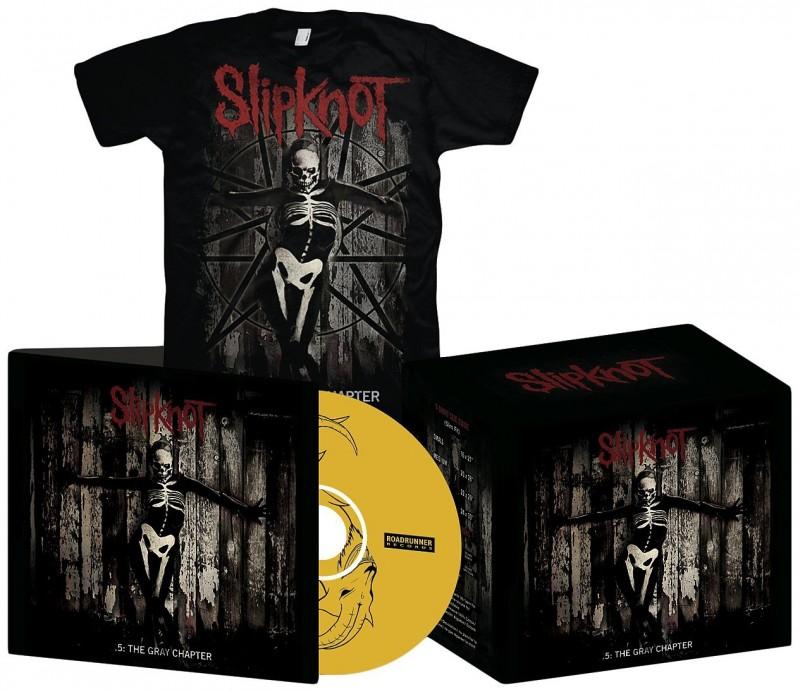 Slipknot 5 The Gray Chapter M Cd Bontonland Cz