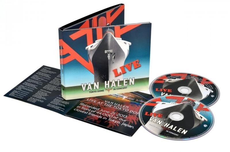 Van Halen   Tokyo Dome Live In Concert - CD  1154edca7e
