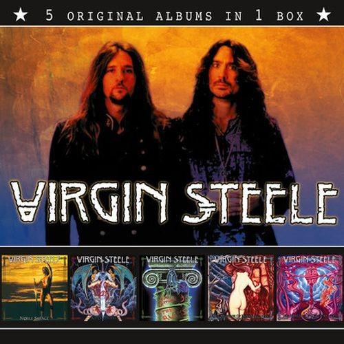 Virgin Steele 5 Original Albums Cd Bontonland Cz